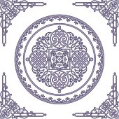 Ethnic ornament.