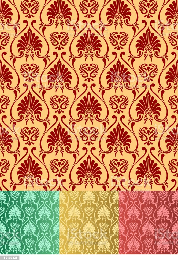 Ornament Wallpaper royalty-free ornament wallpaper stock vector art & more images of abstract