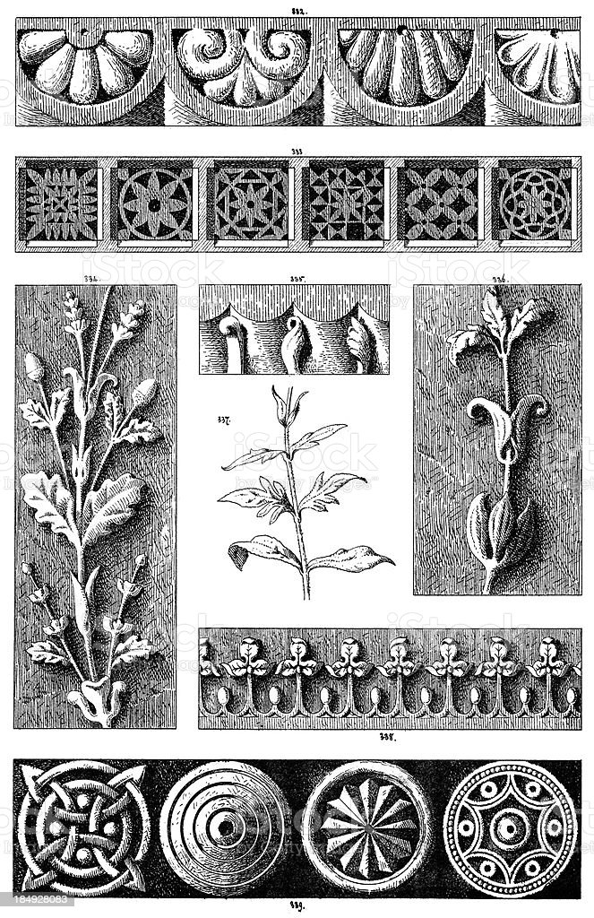 Ornamental art deisgn elements royalty-free ornamental art deisgn elements stock vector art & more images of 19th century