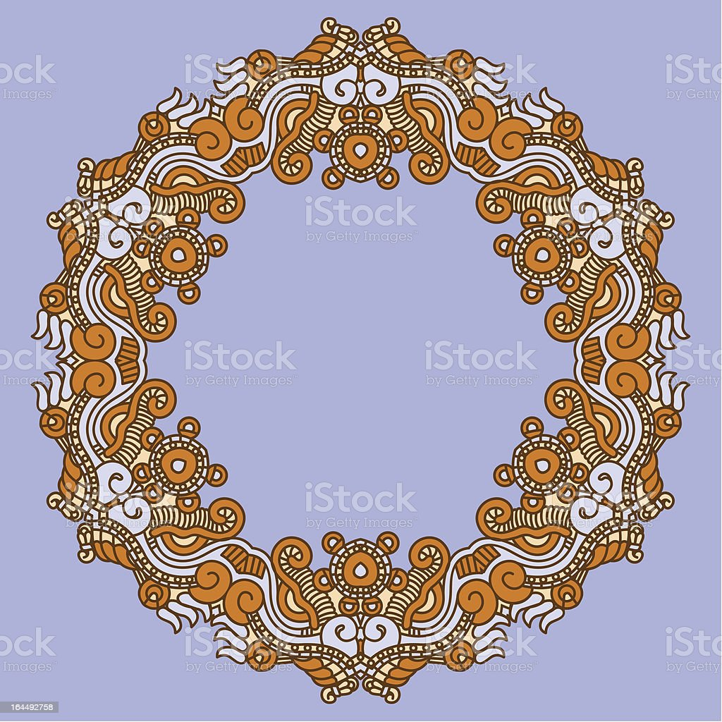 Ornamental pattern royalty-free stock vector art