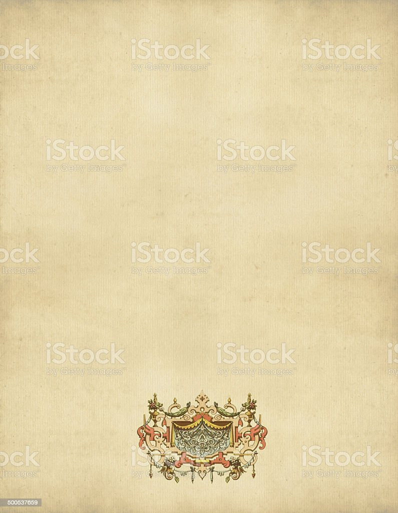 Ornaments France 16th Century royalty-free stock vector art
