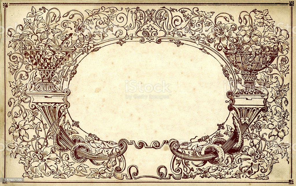 Ornate 19th century border royalty-free ornate 19th century border stock vector art & more images of 1880-1889