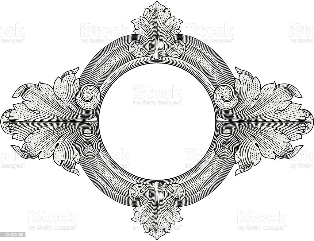 Ornate Frame Vector Stock Vector Art & More Images of Antique ...