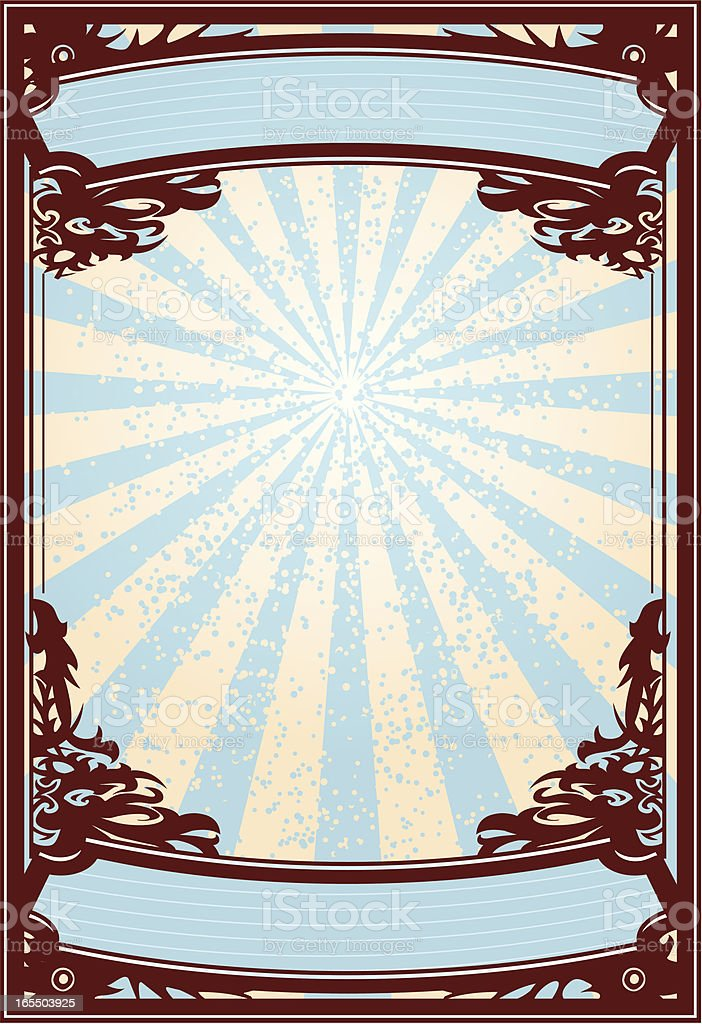 ornate poster royalty-free ornate poster stock vector art & more images of backgrounds