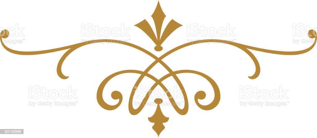 Ornate Scroll Design royalty-free ornate scroll design stock vector art & more images of art nouveau