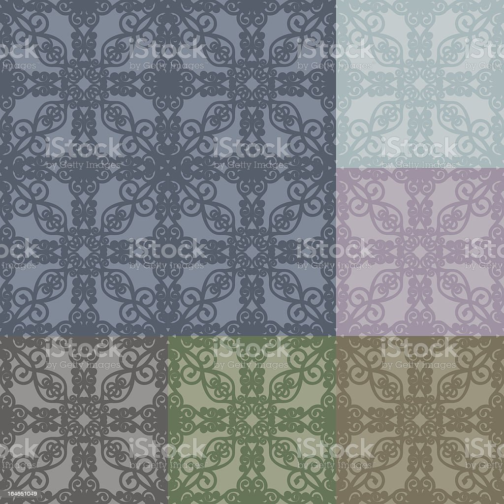 Ornate Seamless Tiles royalty-free ornate seamless tiles stock vector art & more images of abstract