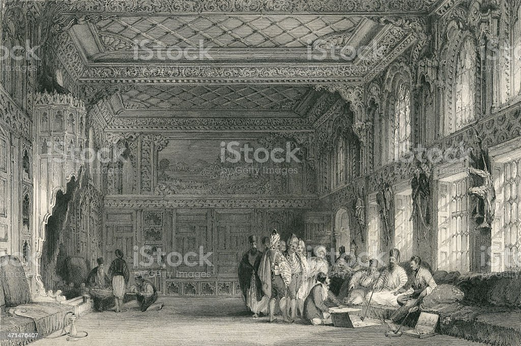 Ottoman Palace royalty-free ottoman palace stock vector art & more images of 19th century