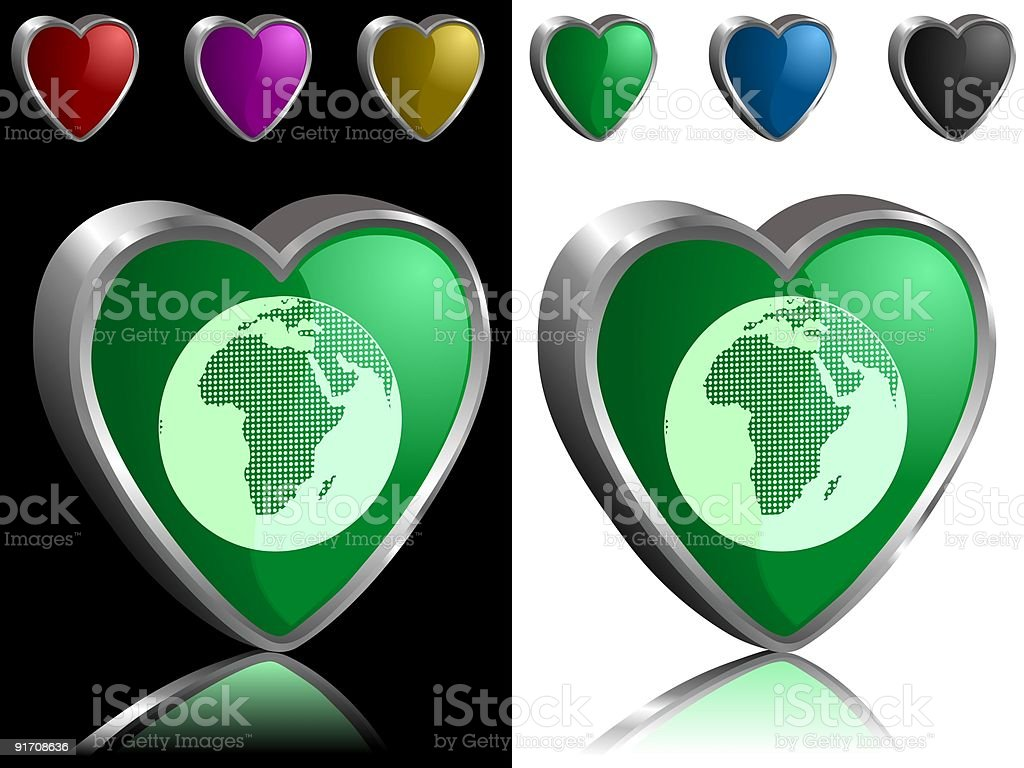Our green Earth royalty-free our green earth stock vector art & more images of africa
