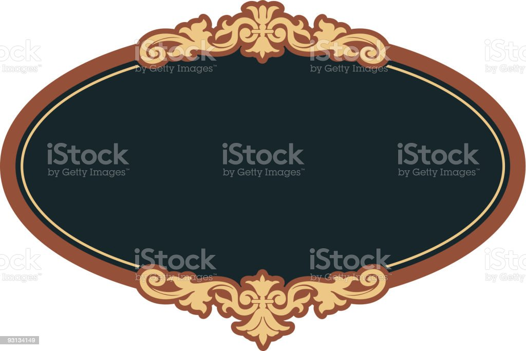 Oval-9-20-04 royalty-free oval92004 stock vector art & more images of art nouveau