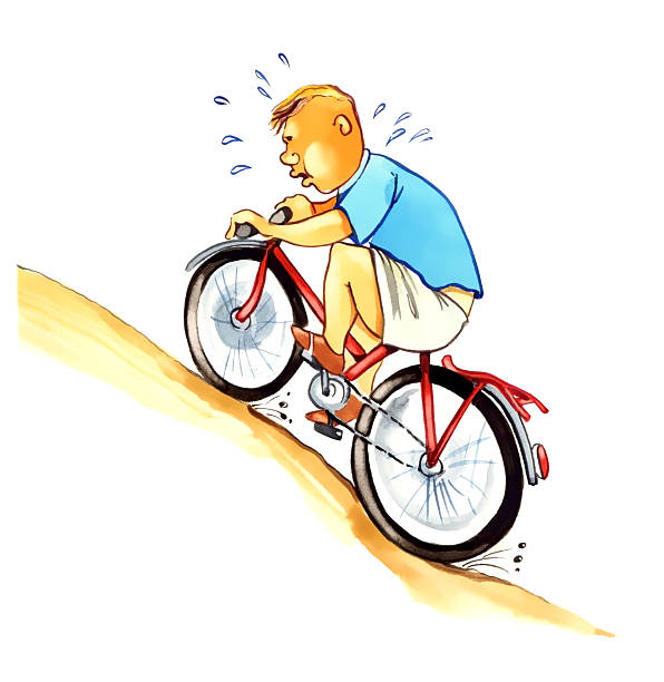Image result for tired cyclist clipart