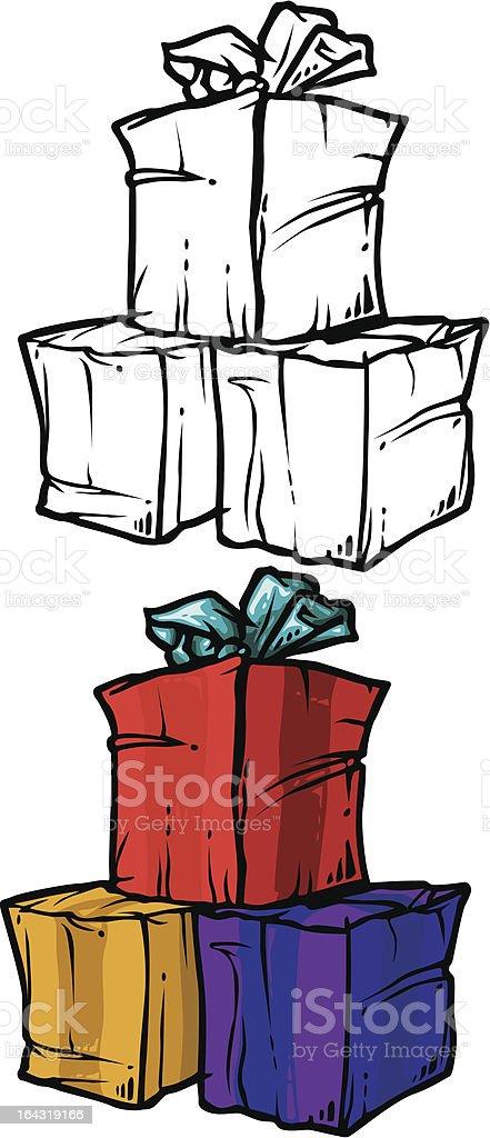package vector art illustration