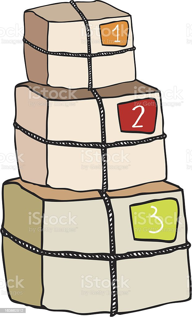 Packages royalty-free packages stock vector art & more images of agreement