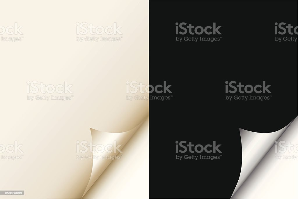 Page curls royalty-free page curls stock vector art & more images of abstract