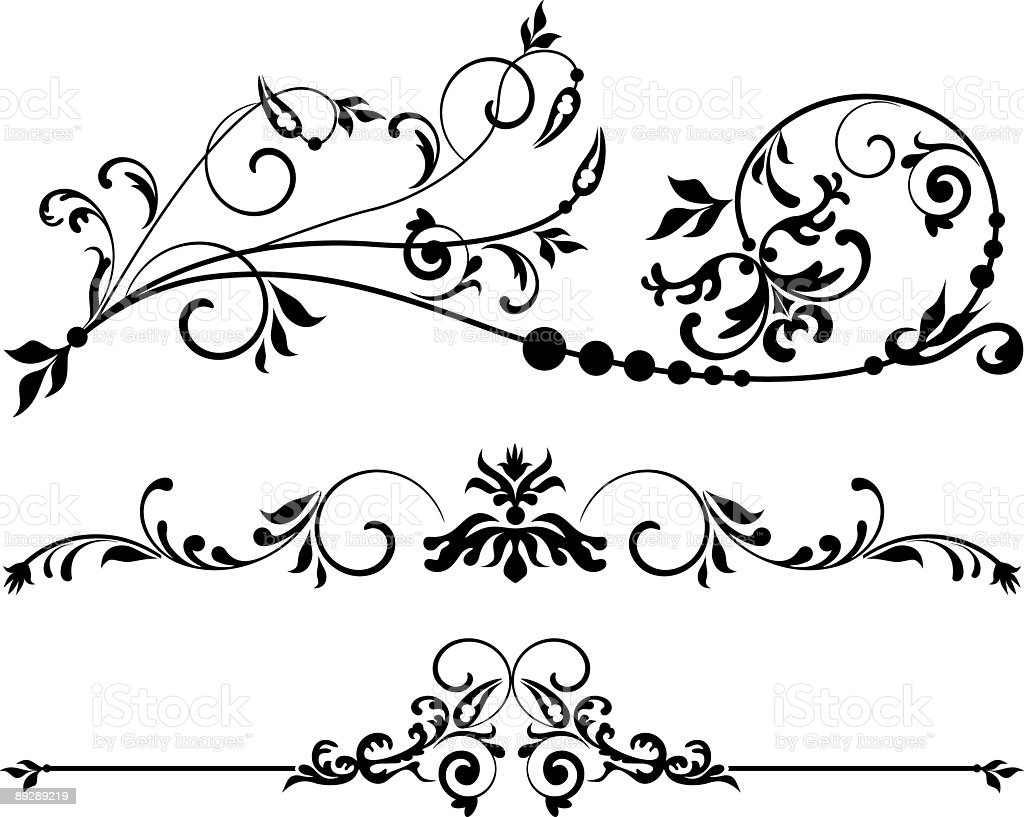Page decoration VII royalty-free page decoration vii stock vector art & more images of angle