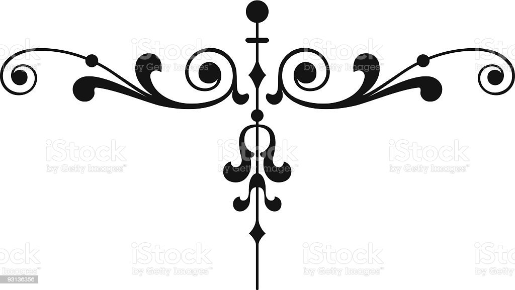 Page Ornament3 royalty-free stock vector art