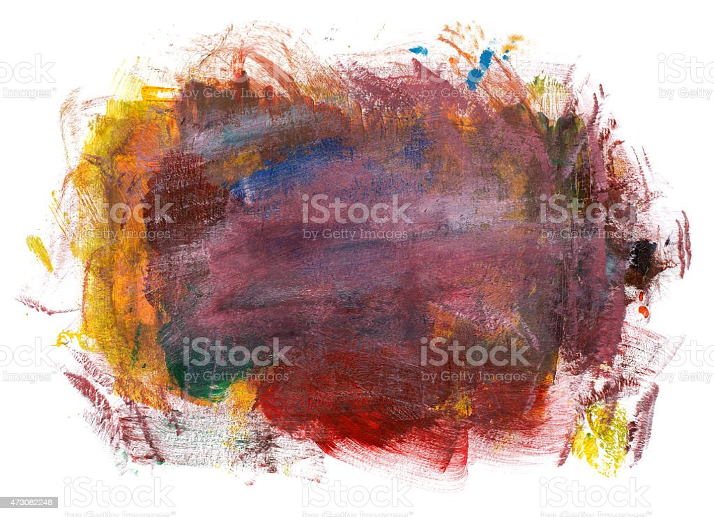 Painted background for your design vector art illustration