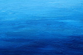 istock Painted Blue Canvas with Texture for Background 466668584