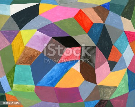 Abstract painted background pattern