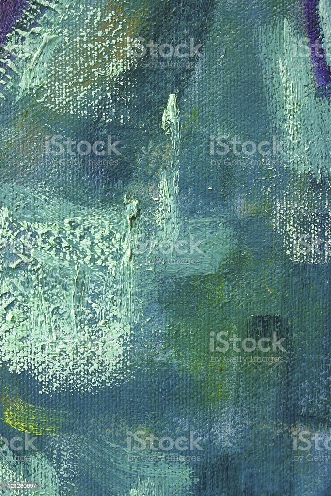 Painted Texture Blue Grunge Background vector art illustration