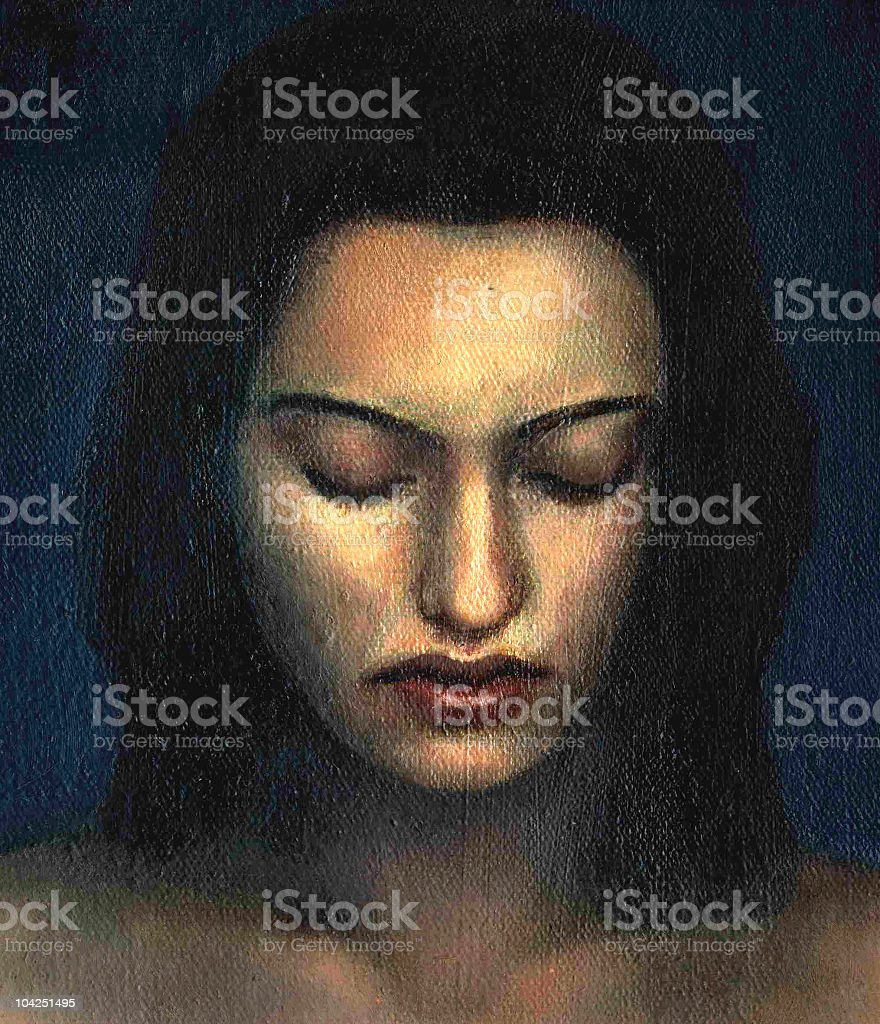 painted woman's face royalty-free painted womans face stock vector art & more images of adult