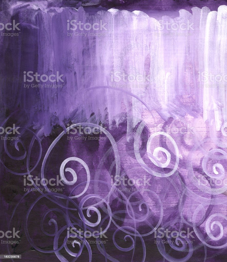 Painterly Purples Background royalty-free painterly purples background stock vector art & more images of abstract