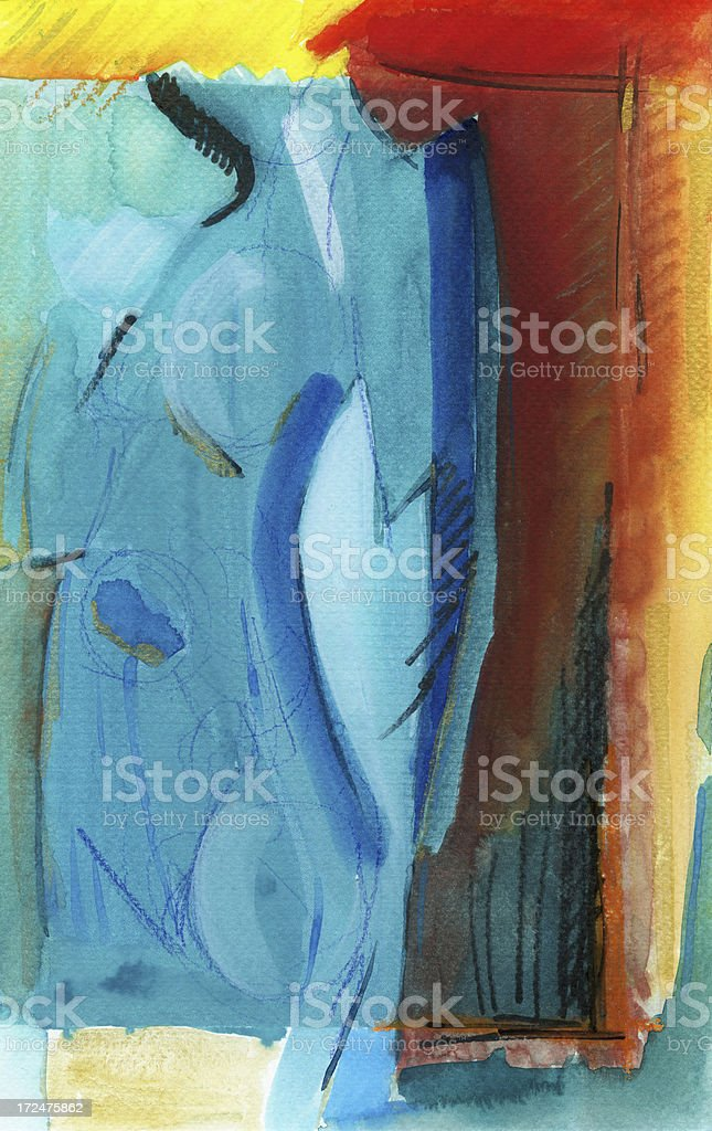 Painting on Canvas royalty-free painting on canvas stock vector art & more images of abstract