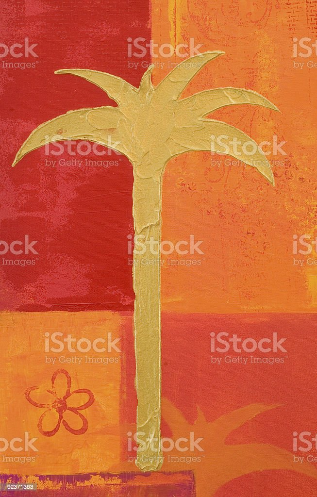Painting red and orange royalty-free painting red and orange stock vector art & more images of acrylic painting