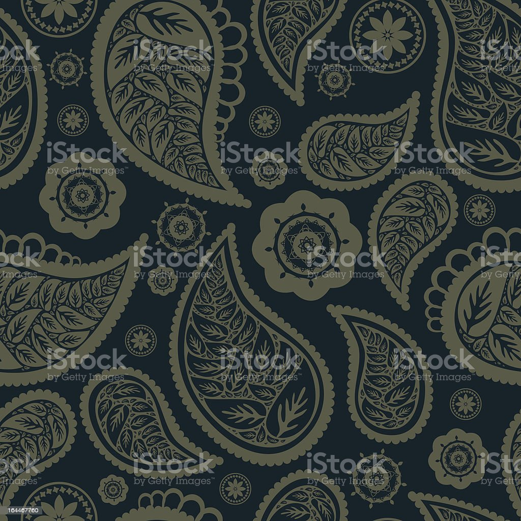 Paisley leafs royalty-free paisley leafs stock vector art & more images of abstract