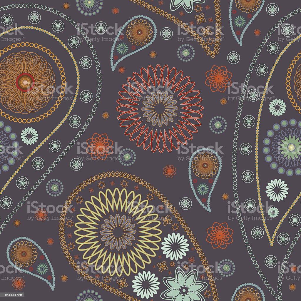 paisley pattern royalty-free stock vector art
