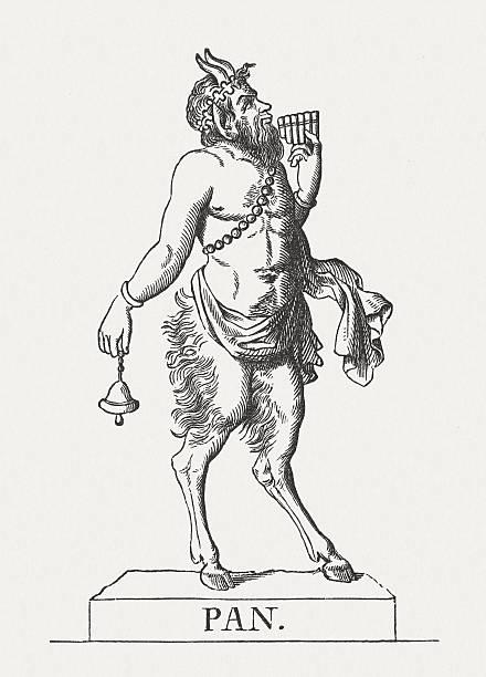 Royalty Free Pan Greek God Clip Art Vector Images Illustrations