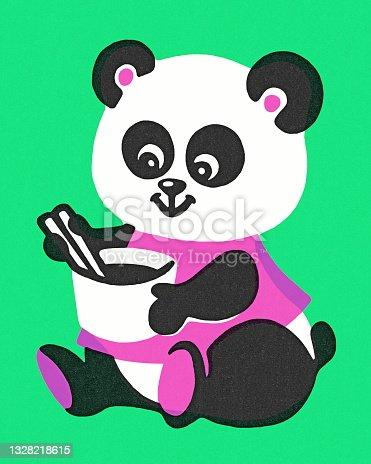 Oso Panda con Copa