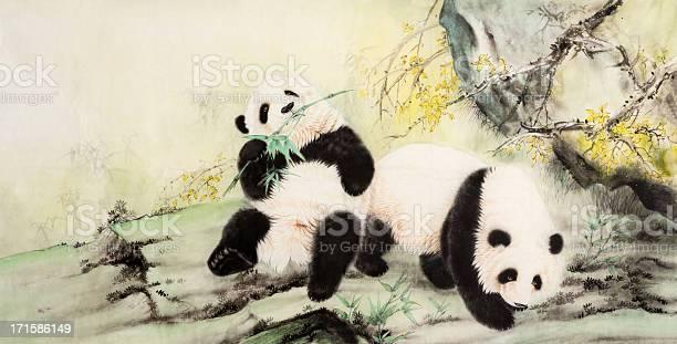 Panda Vecteurs libres de droits et plus d'images vectorielles de Art