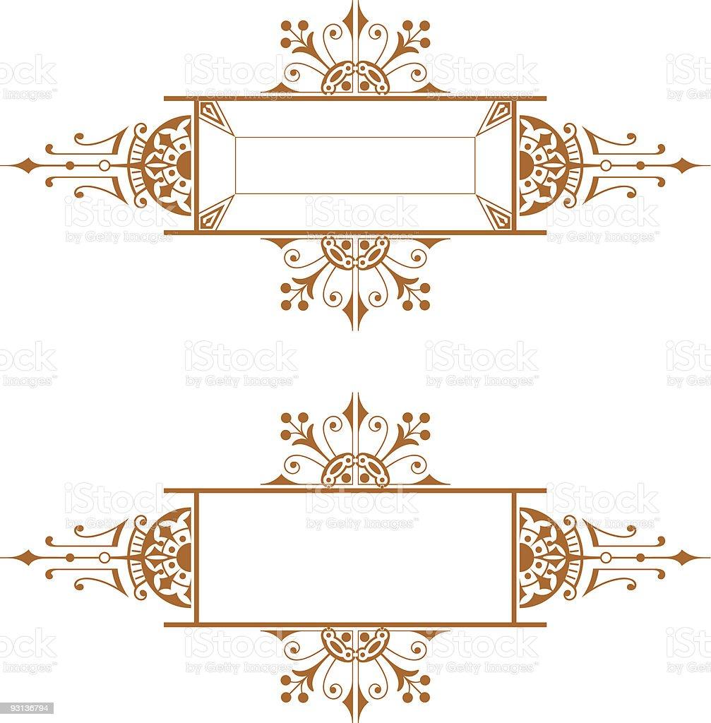 Panel-72904 royalty-free stock vector art