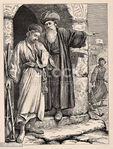 istock Parable of Two Sons & Father's Vineyard, Bible theology 1310013565