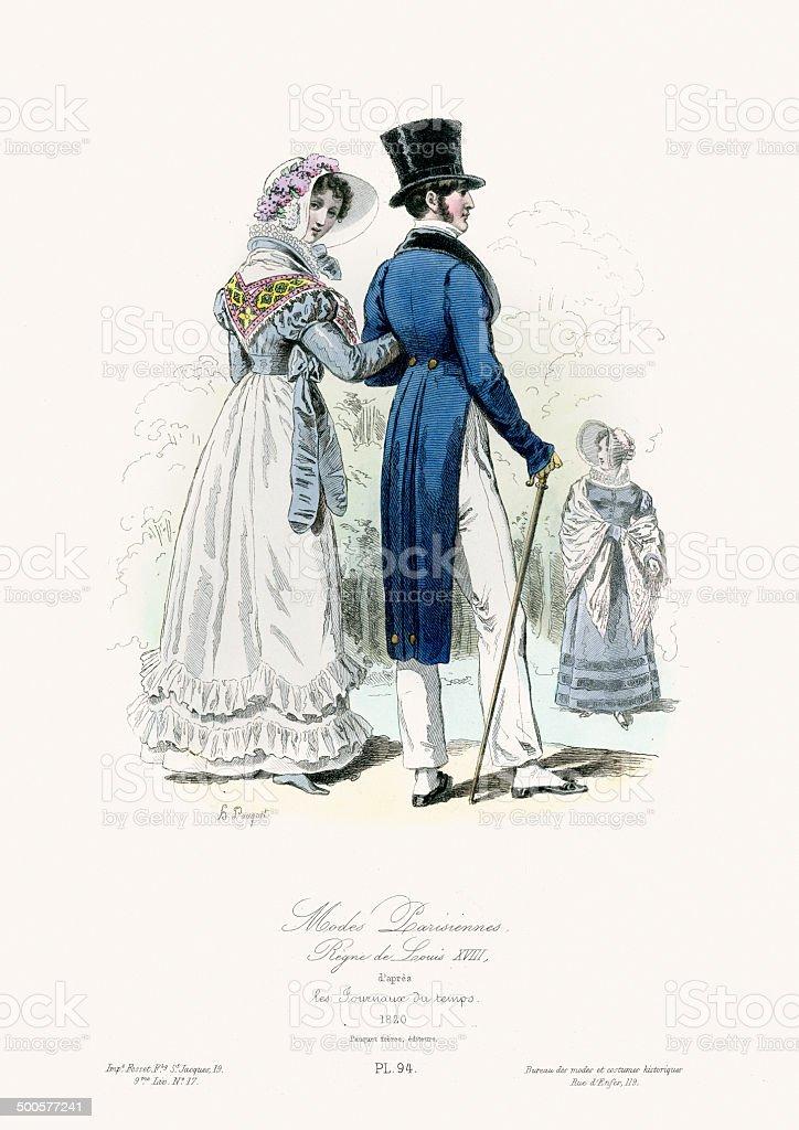 Paris fashion di inizio del xix secolo immagini for Piani di fattoria del 19 secolo