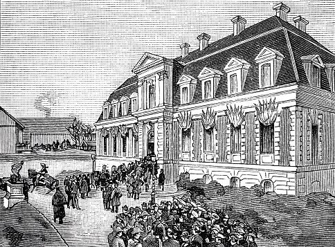 Paris, institute Pasteur