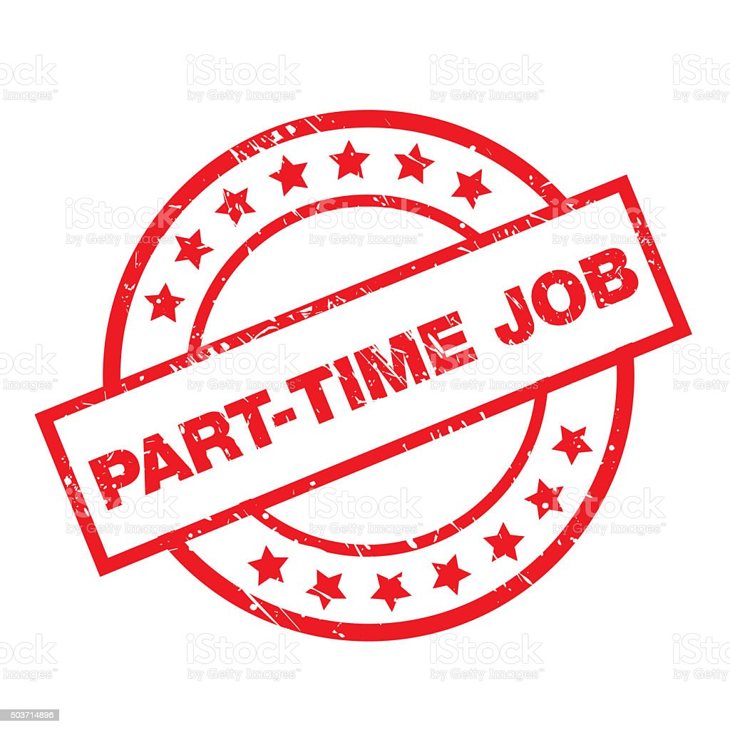 part time job royalty free part time job stock vector art more images