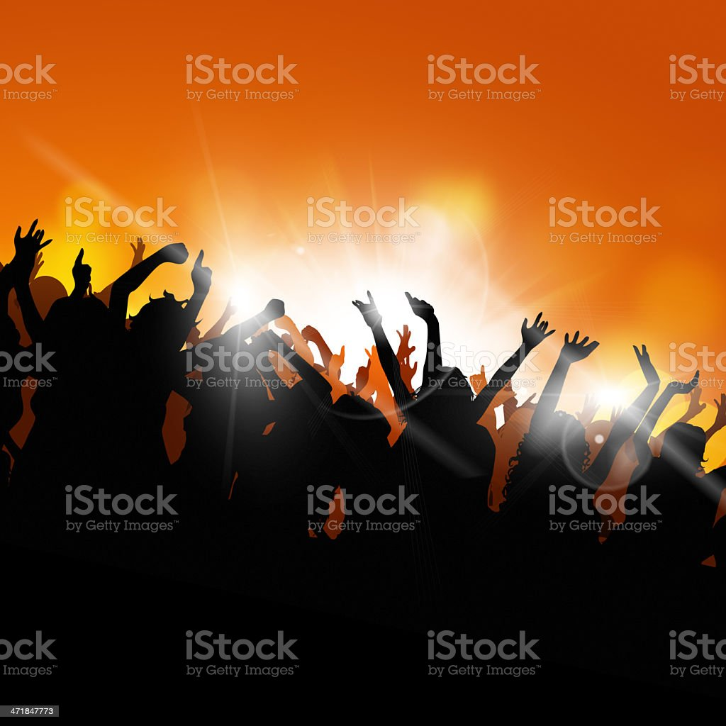 Party Hard royalty-free stock vector art