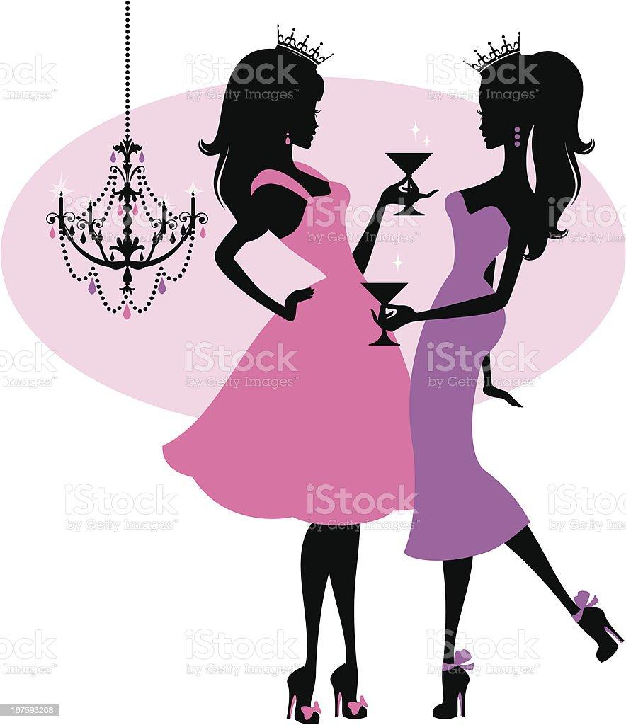 Les Princesses - Illustration vectorielle