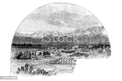 istock Pasadena in the San Gabriel Valley, on the Sierra Madre 1297440088