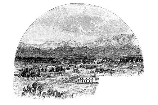 Pasadena in the San Gabriel Valley, on the Sierra Madre