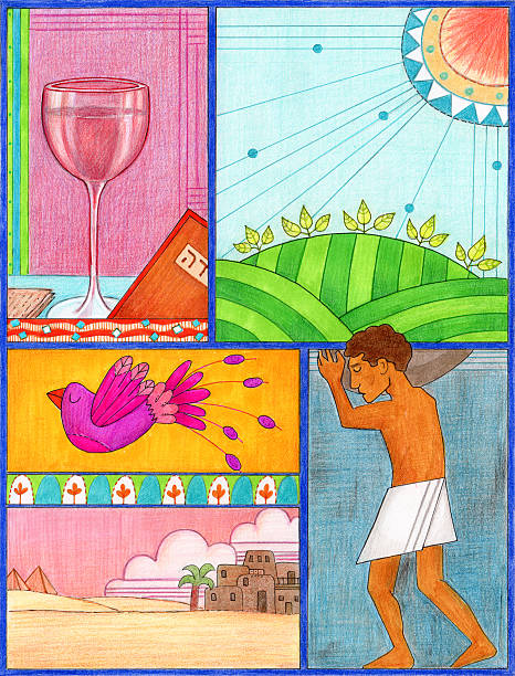 passover art - passover stock illustrations, clip art, cartoons, & icons