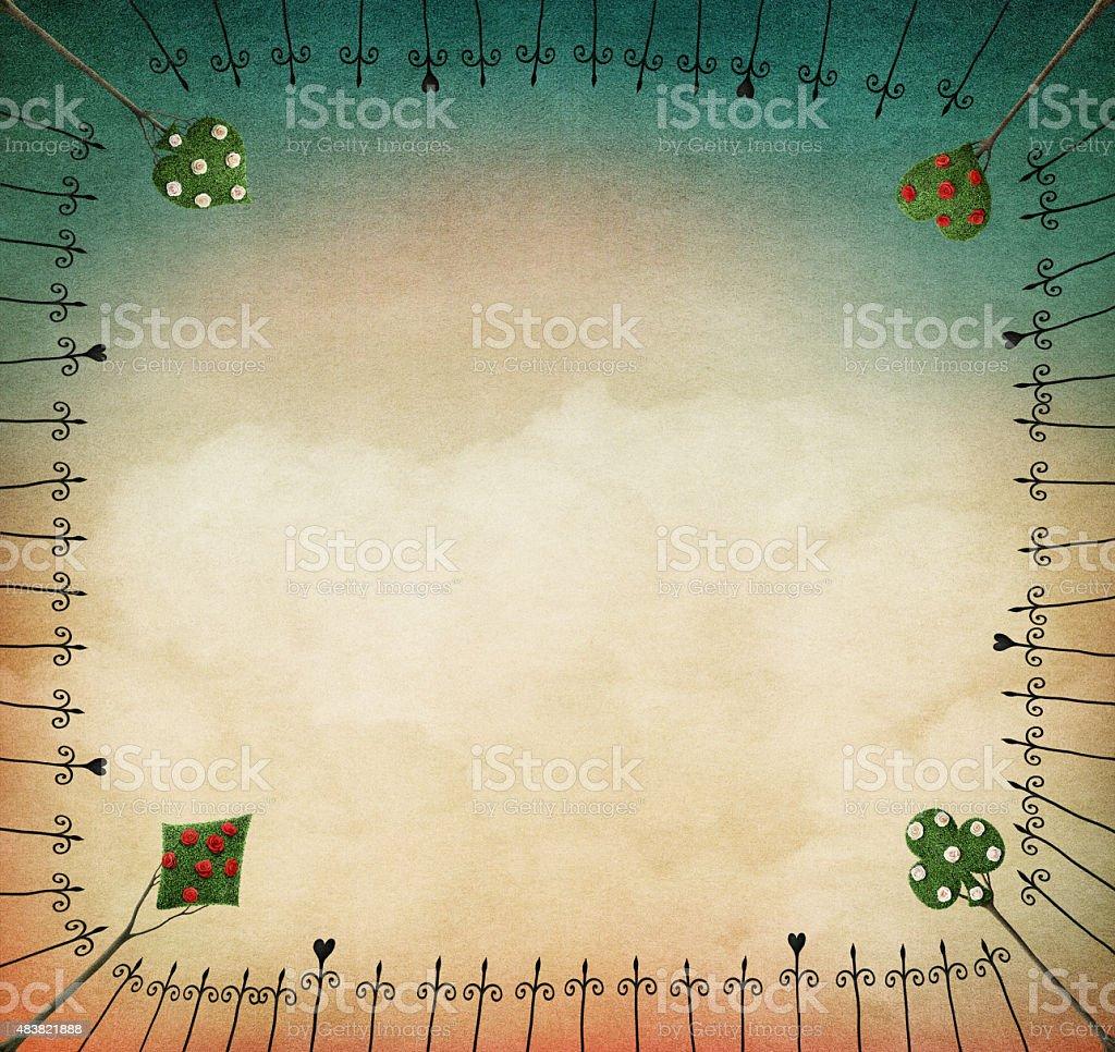 Pastel background vector art illustration