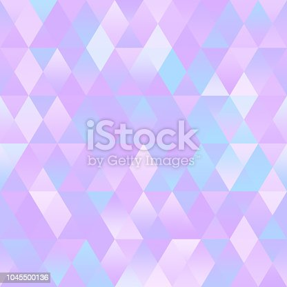 Pastel Colorful Geometric Ombre Background Triangle Seamless Pattern  Multi Colored Backdrop for greeting card, banner, brochure, presentation, flyer, poster, invitation to a party, advertisement