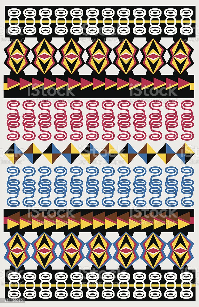 pattern american native royalty-free pattern american native stock vector art & more images of abstract