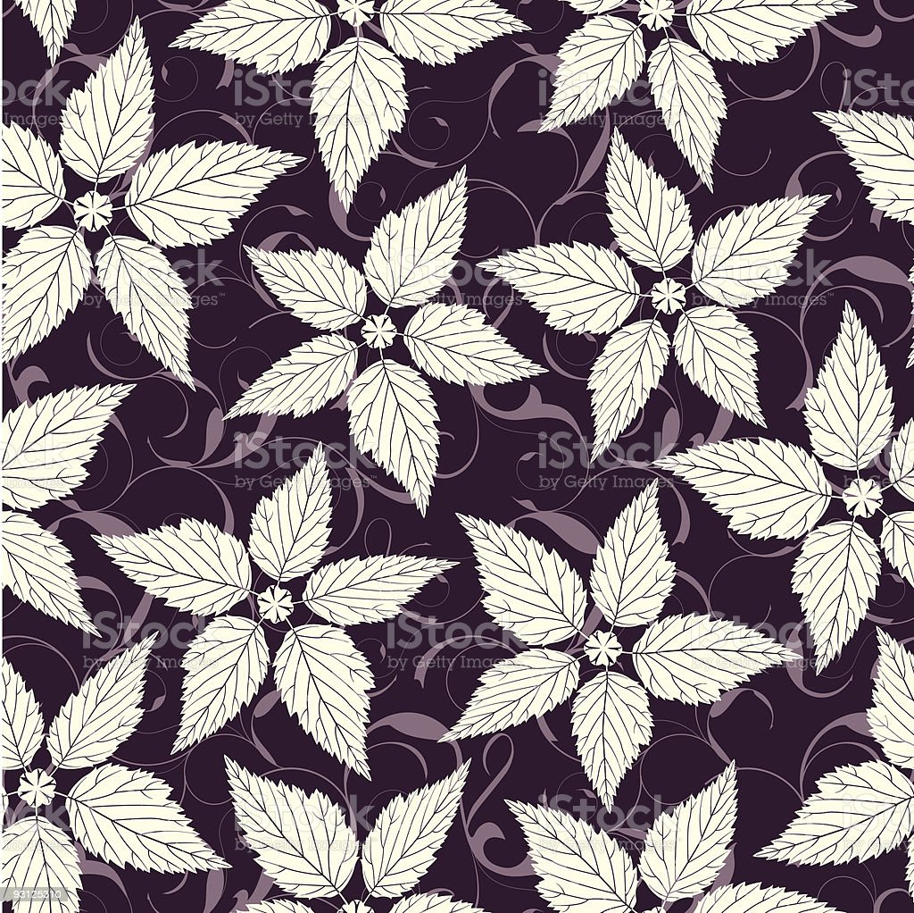 pattern in floral style royalty-free stock vector art