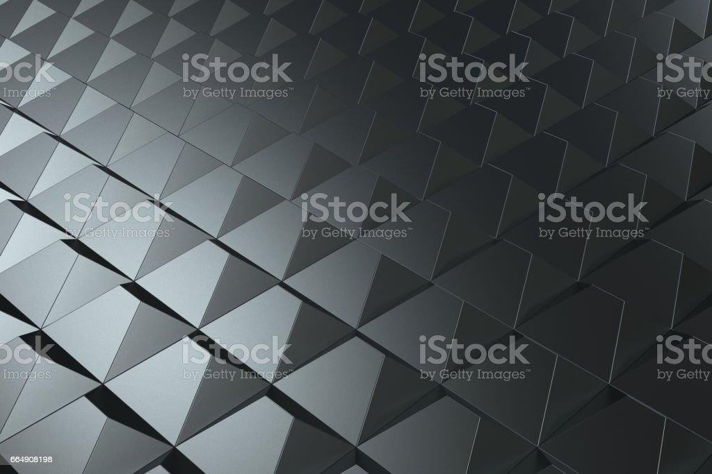 Pattern of black pyramid shapes pattern of black pyramid shapes - immagini vettoriali stock e altre immagini di affari finanza e industria royalty-free
