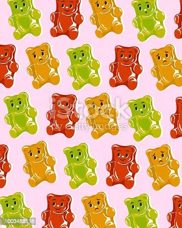 Pattern of Gummy Bears