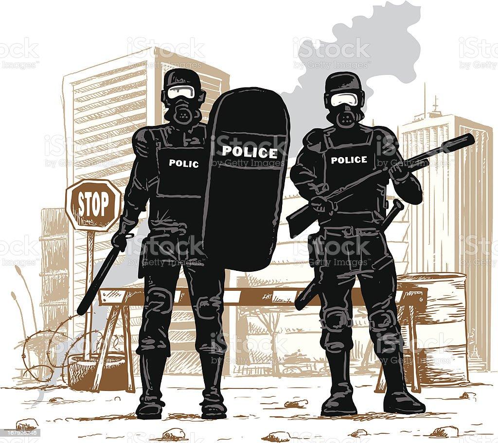 Frieden in der Stadt – Vektorgrafik