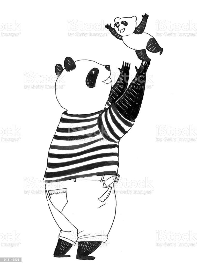 Ausgezeichnet Panda Malbuch Zeitgenössisch - Druckbare Malvorlagen ...